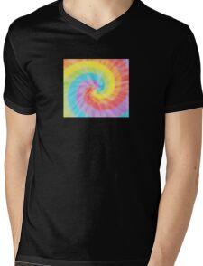 Color the Rainbow Mens V-Neck T-Shirt