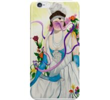 Surreal Flower Flapper iPhone Case/Skin