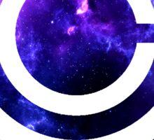 Galaxy Capsule Corp Logo Sticker