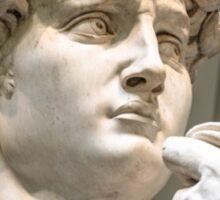 Statue of David in Italy Sticker