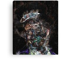 Steampunk Queen Science Fiction Portrait Canvas Print
