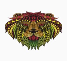 Lion Paint One Piece - Long Sleeve