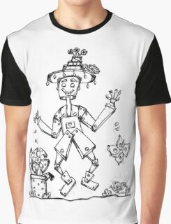 Tin Man and Food Bugs! Graphic T-Shirt