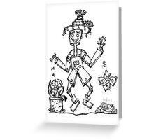 Tin Man and Food Bugs! Greeting Card