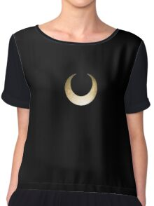 Galaxy Sailor Moon Crescent  Chiffon Top