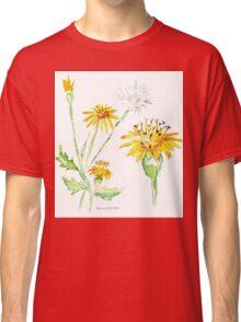 Dandelions (Perdeblom) - Botanical Classic T-Shirt
