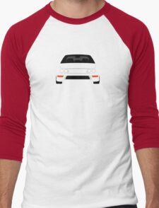 DC2 simple design Men's Baseball ¾ T-Shirt