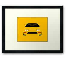 DC2 simple design Framed Print