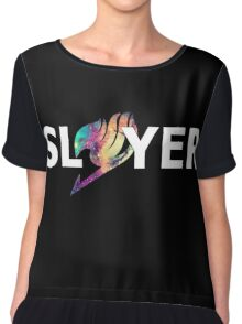 Fairy Tail Dragon Slayer Logo Chiffon Top