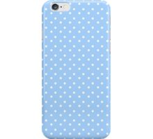 Adorable Blue Polka Dots iPhone Case/Skin