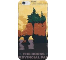 The Rocks Provincial Park iPhone Case/Skin