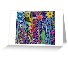 int he mighty jungle Greeting Card