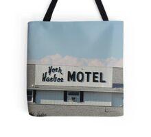 York Harbor Motel Tote Bag