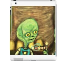 alien invaders iPad Case/Skin