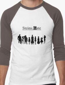 steins;gate Family anime Men's Baseball ¾ T-Shirt