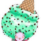 Doll faced dearies, Miss Minty choco chip  by Bantambb