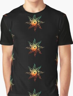 Galaxy Sun and Moon Graphic T-Shirt