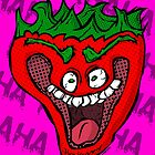 Jeffy the Insane Strawberry by GrimDork