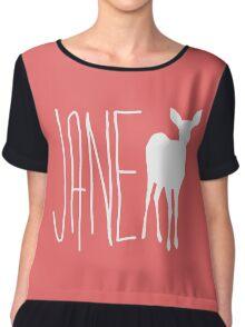 Life is Strange - Jane Doe T-Shirt Chiffon Top