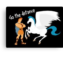Go the distance Canvas Print
