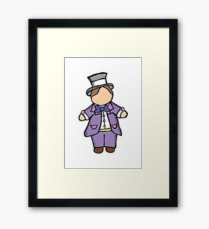 'Little Ones – Groom!' Framed Print