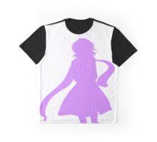Nagisa Winter Coat Indigo - Clannad Graphic T-Shirt