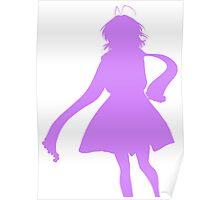 Nagisa Winter Coat Indigo - Clannad Poster