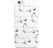 Flouncy Fluffy Foxes iPhone Case/Skin