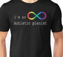Autistic Pianist Unisex T-Shirt