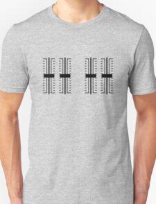 Simply Sliders (black graphic) Unisex T-Shirt