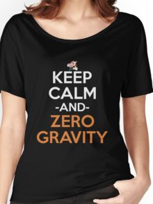 Keep Calm And Zero Gravity Anime Shirt Women's Relaxed Fit T-Shirt