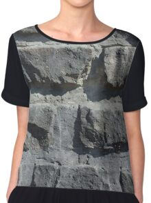 Another Brick in the Wall Chiffon Top