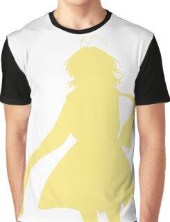 Nagisa Winter Coat Yellow - Clannad Graphic T-Shirt