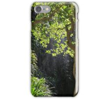 Rainforest waterfall iPhone Case/Skin