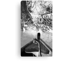 River Rowboats Canvas Print