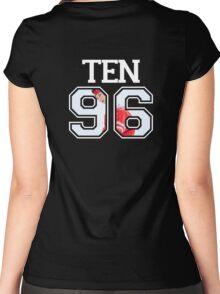 NCT - Ten 96 Women's Fitted Scoop T-Shirt