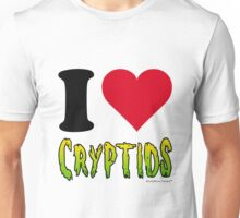 I Love Cryptids Unisex T-Shirt