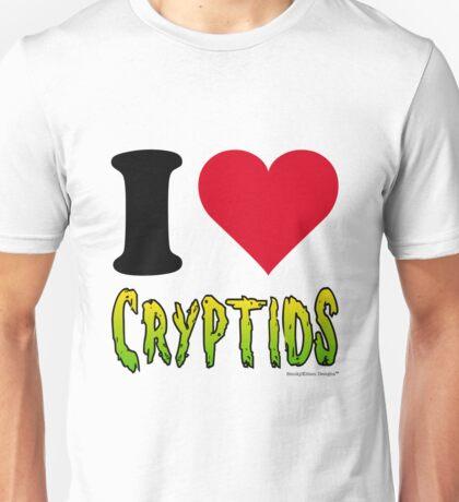I Love Cryptids Unisex T-Shirt
