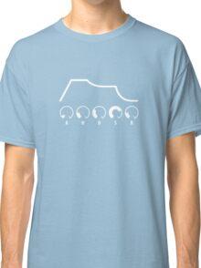 AHDSR Envelope (white graphic) Classic T-Shirt