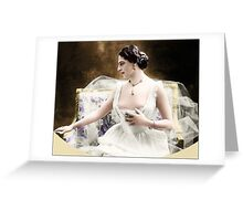 Mata Hari 2 Greeting Card