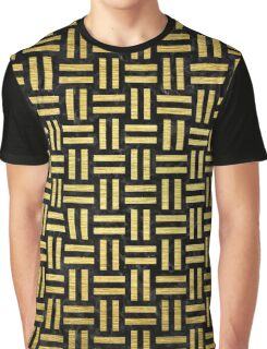 WOV1 BK MARBLE GOLD Graphic T-Shirt