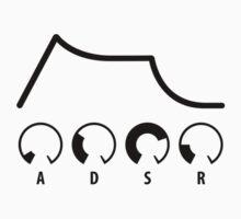 ADSR Envelope (black graphic) by skyre
