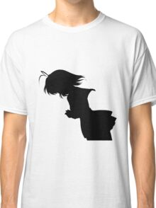 Nagisa Winter Uniform Black - Clannad Classic T-Shirt