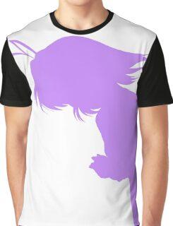 Nagisa Winter Uniform Indigo - Clannad Graphic T-Shirt