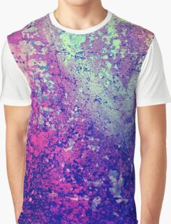 Abstract Speckles Graphic T-Shirt