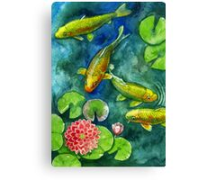 pond Canvas Print