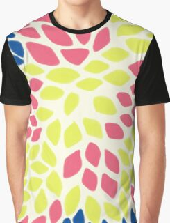 Petal abstract pattern Graphic T-Shirt