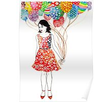 Party dress Poster