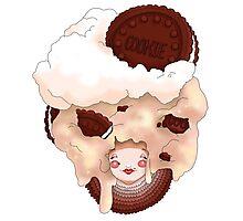 Doll faced dearies, Coco cookies n cream Photographic Print