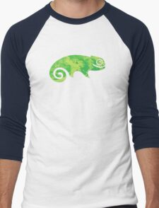 Linux SUSE Men's Baseball ¾ T-Shirt